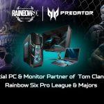Acer Predator neuer Sponsor der überarbeiteten Tom Clancy's Rainbow Six Pro League Saison X