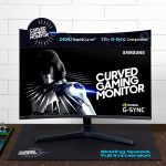 Samsung-Curved-Gaming-Monitor-CRG527-frontal