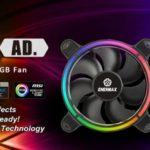 Enermax stellt T.B.RGB AD Lüfter vor