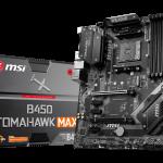 MSI stellt AM4 300- und 400-MAX-Serie Mainboards vor