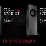 Aktualisierte Preise für die Grafikkarten der AMD Radeon RX 5700-Serie