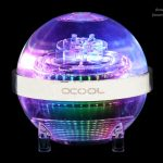 Alphacool stellt den Eisball vor - Ausgleichsbehälter mit integrierter Pumpe und LED-Beleuchtung