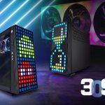 InWin stellt das 309 ATX-Gehäuse mit 144 LEDs in der Front vor