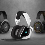 CORSAIR ergänzt sein Headset-Portfolio um die VOID ELITE und HS PRO Serien