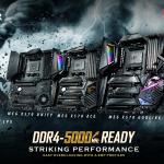 MSI X570 Mainboards durchbrechen mit CORSAIR VENGEANCE LPX DDR4-Speicher die 5000 MHz-Grenze