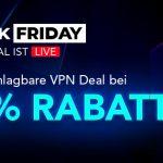 Black Friday Kracher bei Pure VPN