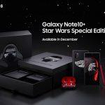 Stark die Macht in der Galaxy Note10+ Star Wars Special Edition ist
