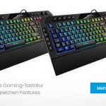 Sharkoon SKILLER SGK5: Komfortable Gaming-Tastatur mit umfangreichen Features