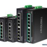 TRENDnet präsentiert vier neue Fast Ethernet Switches für die Industrie