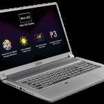 MSI Creator 17: Erster Laptop mit Mini-LED-Bildschirm