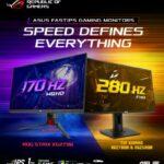 ASUS kündigt die schnellsten IPS-Gaming-Monitore der Welt mit ELMB Sync an