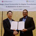 LG Electronics arbeitet künftig enger mit Microsoft zusammen