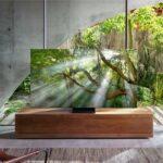 Samsung enthüllt den Q950TS, einen atemberaubend schönen 8K QLED AI-betriebenen Zero-Bezel-Fernseher