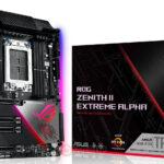 ASUS veröffentlicht ROG Zenith II Extreme Alpha Motherboard mit verbesserten CPU VRM