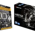 BIOSTAR lanciert einen Neustart der Motherboards der H61-Serie