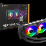 Antec präsentiert neuen Neptune All-in-One-ARGB-CPU-Kühler