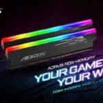 GIGABYTE veröffentlicht die AORUS RGB 4400MHz 16GB Speicher