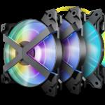 DeepCool bringt neue, einzigartige A-RGB-Lüfter MF120 GT mit X-Rahmen auf den Markt