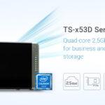 QNAP stellt neue NAS Serie TS-x53D für Unternehmen und Gamer vor