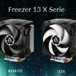 FREEZER 13 X Serie – Kompakte CPU-Kühler-Nachfolgerserie für AMD & Intel