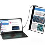 Lenovo-ThinkVision-M14t-mit-Laptop