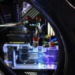 Bitspower CPU Block Summit M OLED mit Display im Test
