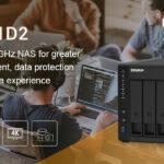 QNAP stellt das Intel J4025 Dual-Core NAS TS-451D2 mit vier Einschüben und hocheffizienter Dateiverwaltung vor