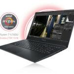 Das neue TUXEDO Aura 15 mit AMD Ryzen 4700U, USB-C DisplayPort und LTE Modem