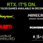 NVIDIA: Vier neue Spiele erhalten DLSS-Unterstützung, Minecraft erstrahlt mit RTX ON und Cyberpunk 2077 steht kurz bevor