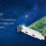 QNAP veröffentlicht Dual-Port Thunderbolt 3 Erweiterungskarte für die TVS-h1688X und TVS-h1288X NAS