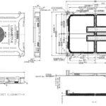 "Intel Xeon ""Sapphire Rapids"" LGA4677-X Prozessor-Muster abgebildet"