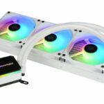 Der LIQMAX III ARGB 360 ist nun auch in Schneeweiß erhältlich