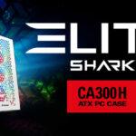 Sharkoon ELITE SHARK CA300H | Premium-Gehäuse für PC-Enthusiasten