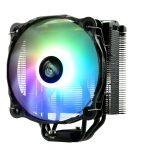 Die neuen CPU-Kühler ETS-F40-FS ARGB und Solid Black mit 140 mm Lüfter sind ab sofort auf dem europäischen Markt erhältlich