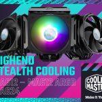 Cooler Master stellt seine neuen CPU Luftkühler der MasterAir Stealth Serie vor
