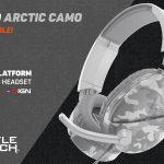Turtle Beach Recon 70, jetzt in Camo Polarweiß erhältlich