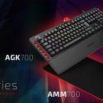 AOC erweitert sein Gaming-Universum: Mechanische Tastaturen, Mäuse und Mousepads