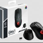 MSI stellt die erste kabellose Gaming-Maus CLUTCH GM41 LIGHTWEIGHT WIRELESS vor