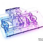 Alphacool präsentiert heute den Eisblock Aurora Acryl GPX Wasserkühler mit Backplate für Nvidia RTX 3080/3090 Pallit GameRock, RTX 3070 Asus ROG Strix & RTX 3070 Asus DUAL/TUF Grafikkarten
