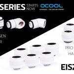 Alphacool präsentiert heute die Eiszapfen White Series Adapter, Verlängerungen, Verbinder & Fittings