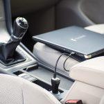 Dynabook_USB-C™-Notebook-Ladegerät fürs Auto_Lifestyle