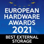 """Crucial X8 räumt bei den European Hardware Awards den ersten Platz in der Kategorie """"Bester externer Speicher"""" ab"""