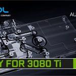 Alphacool's Eisblock Aurora GPX Grafikkartenkühler ist bereit für  RTX 3080 Ti