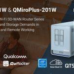 QNAP präsentiert die Next-Gen Tri-Band Mesh Wi-Fi SD-WAN Router QMiro-201W & QMiroPlus-201W