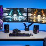 Schnell, hochauflösend und flach: Samsung erweitert Odyssey Gaming-Monitor-Reihe