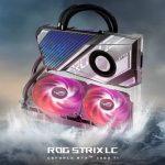 ASUS stellt RTX 3080 Ti ROG Strix LC-Grafikkarten mit Hybrid-Kühlung vor
