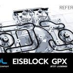 Alphacool präsentiert heute den Eisblock Aurora Acryl GPX Wasserkühler für das Referenzdesign mit Backplate für AMD Radeon RX 6700 XT Grafikkarten