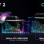 Alphacool präsentiert heute die Eiswolf 2 360mm AIO für Nvidia RTX 3080/3090 MSI Ventus & Asus ROG Strix Grafikkarten