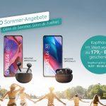 Neues Sommer-Angebot von OPPO – gratis Kopfhörer beim Kauf von Smartphones der Find X3 Serie 5G oder A Serie