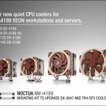 Noctua präsentiert CPU-Kühler für Intels LGA4189 Xeon Plattform